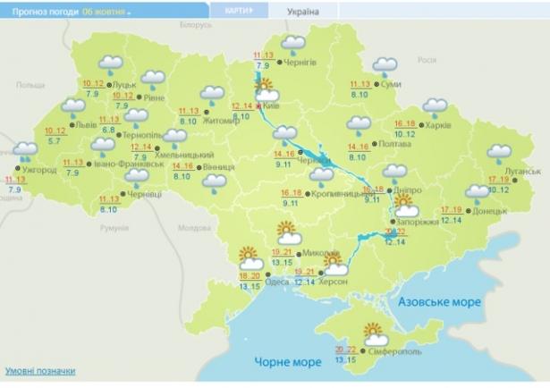 штормовое предупреждение украина