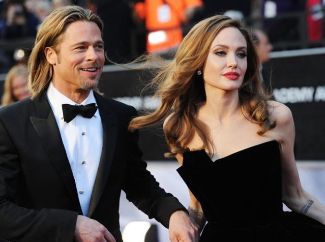 Это официально: Анджелина Джоли и Брэд Питт развелись