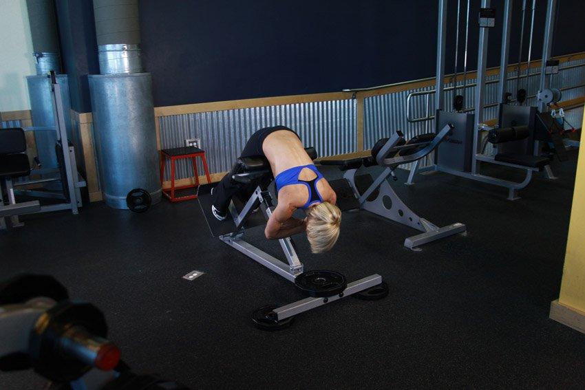 тренировка спина