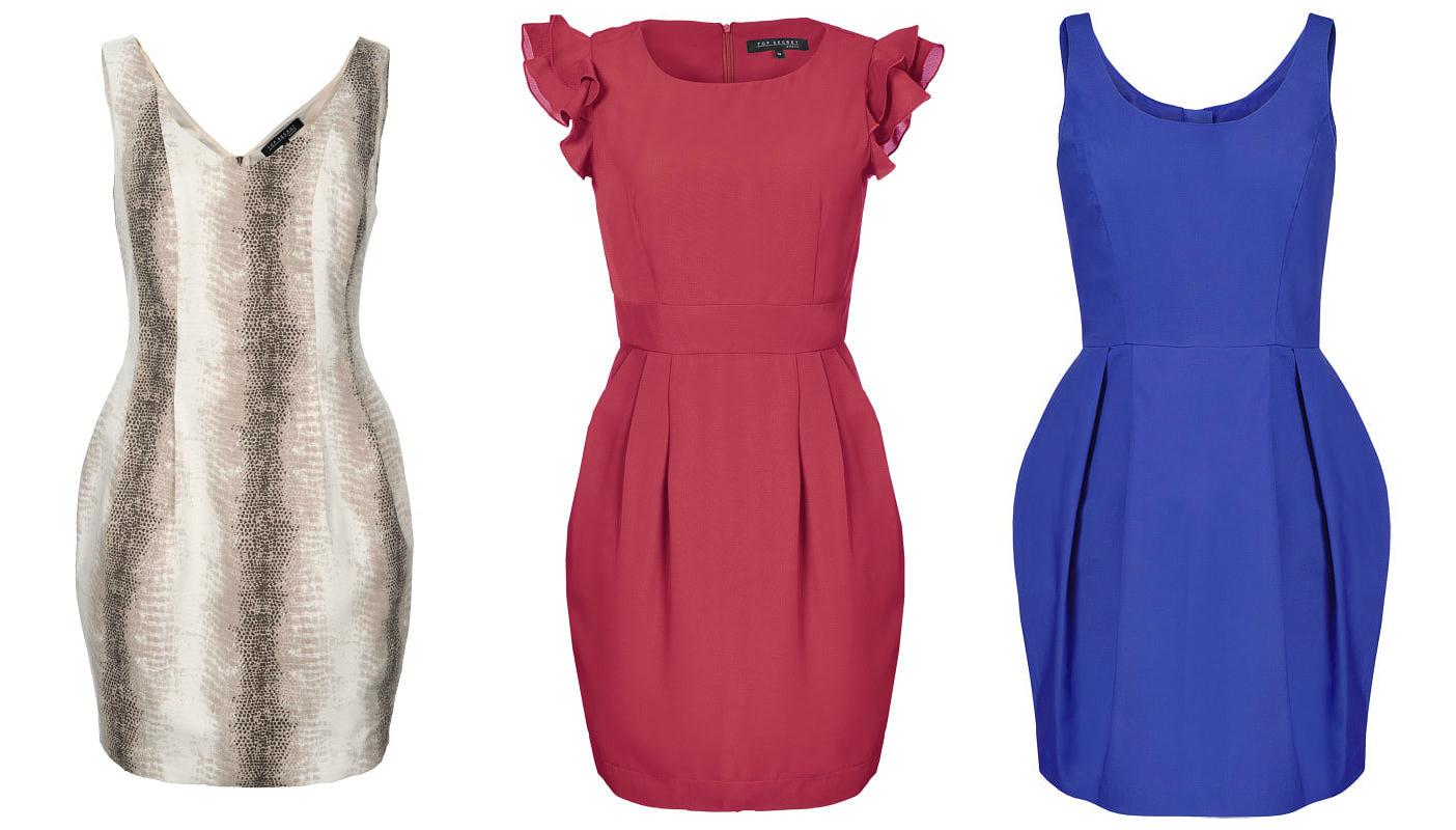 Платье бочонок или фонарик модное