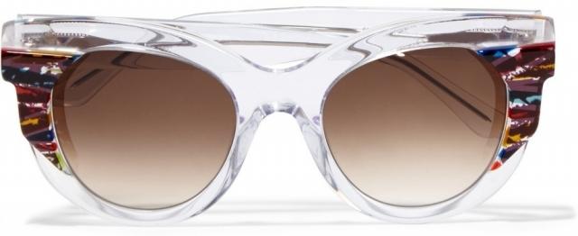 Модные солнцезащитные очки лета 2016 в прозрачной оправе