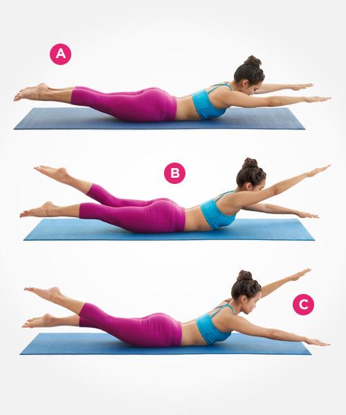Эффективные упражнения для плоского живота