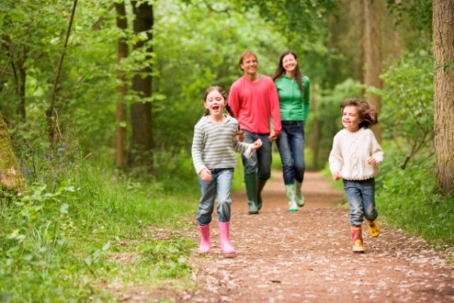 Домашнее похудение - активные прогулки на природе