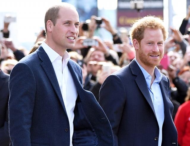 Принцы Гарри и Уильям