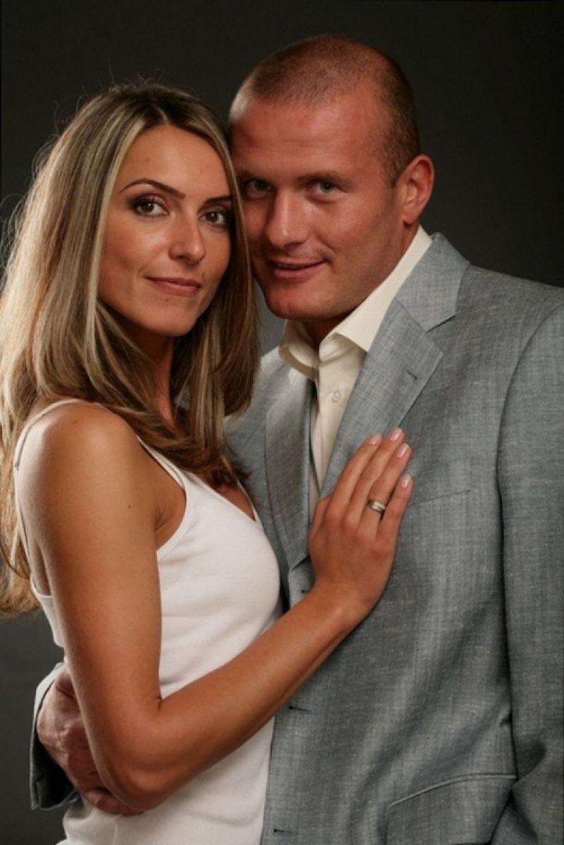 Узелков с женой