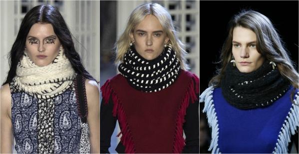 шарф-хомут фото