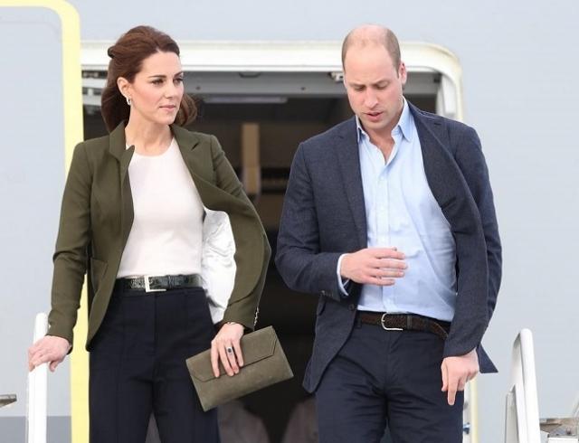 Принц Уильям и Кейт Миддлтон на Кипре