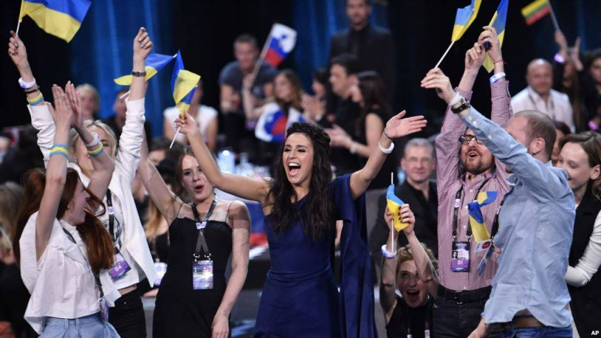 Джамала - победительница Евровидения 2016 (фото)