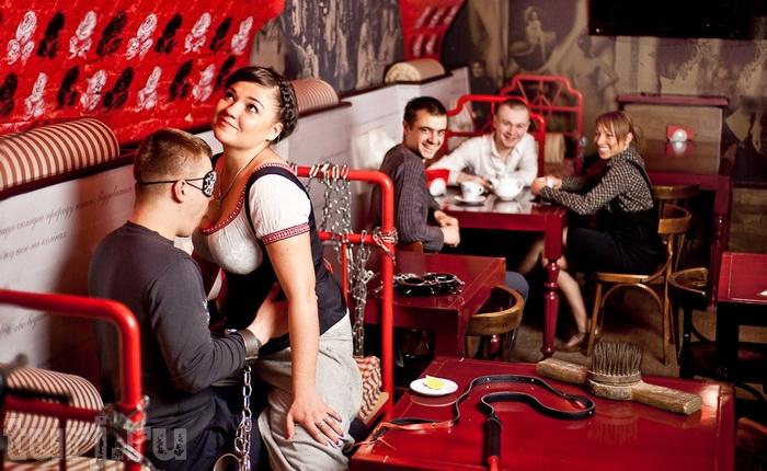 Секс у ресторана фото 97-703