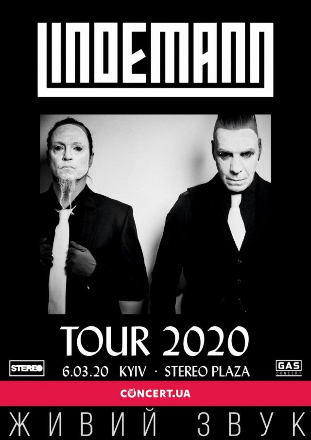 LINDEMANN едет в Киев: Тилль Линдеманн и Петер Тагтгрен выступят в Stereo Plaza с программой 18+