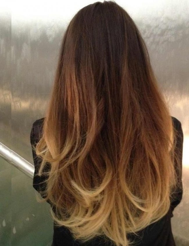 Как называется окрашивание кончиков волос в светлый цвет