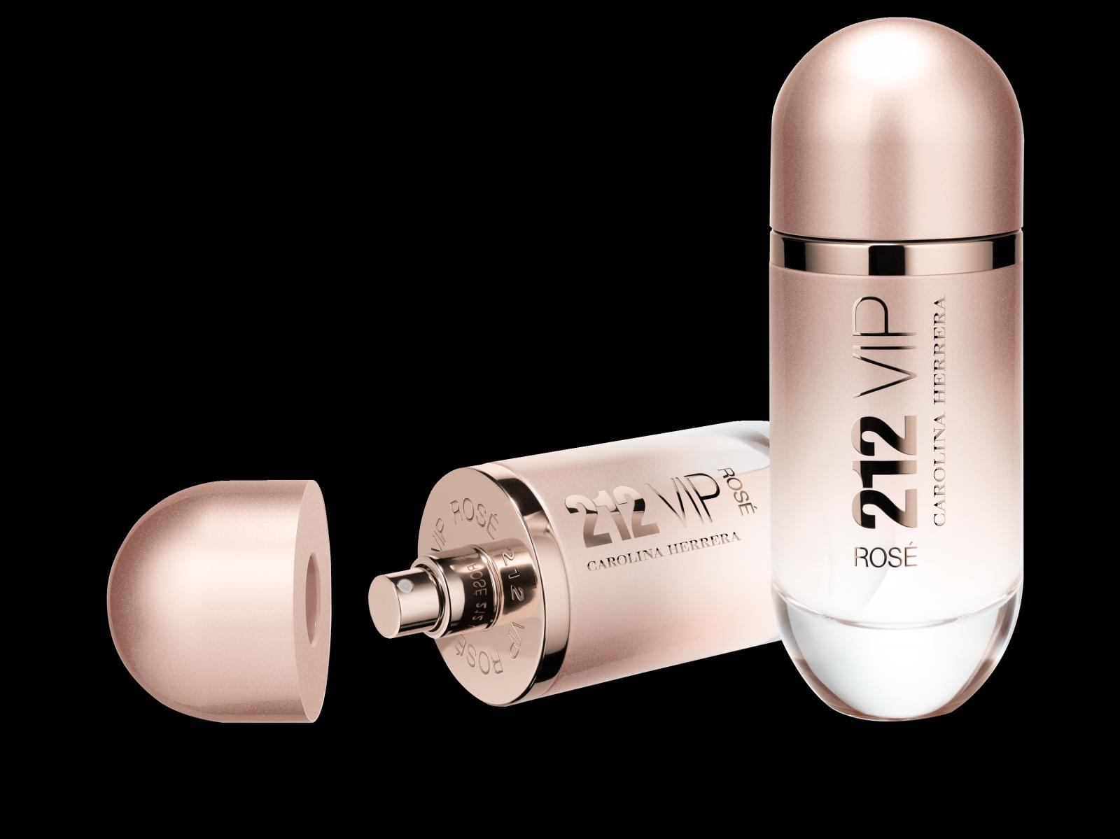 Brand Carolina Herrera Released A New Fragrance 212 Vip Rose Twirkl Women Edp 80ml