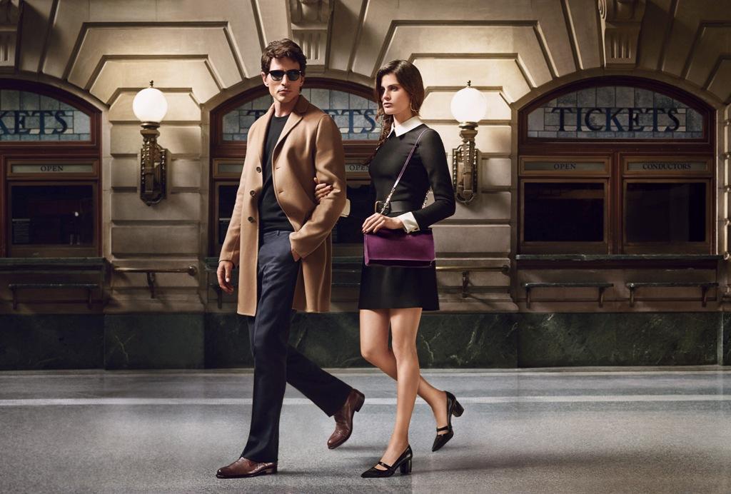Рекламная кампания Carlo Pazolini.