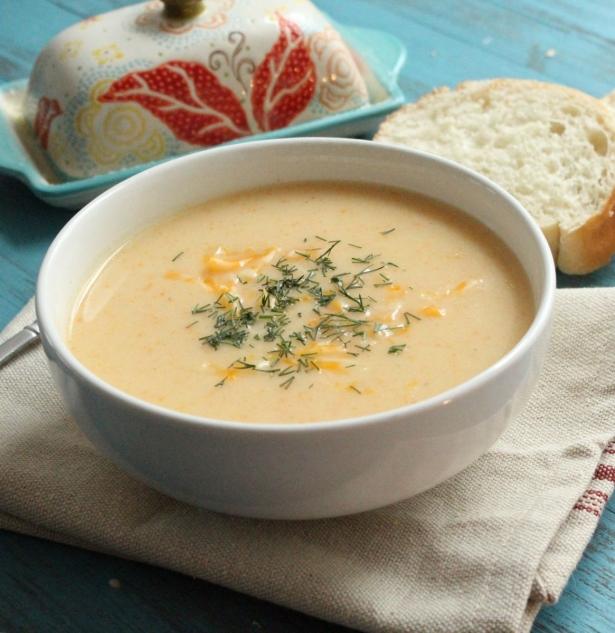 рецепт супа с сырком дружба и курицей