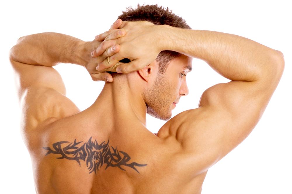 мужская спина фото