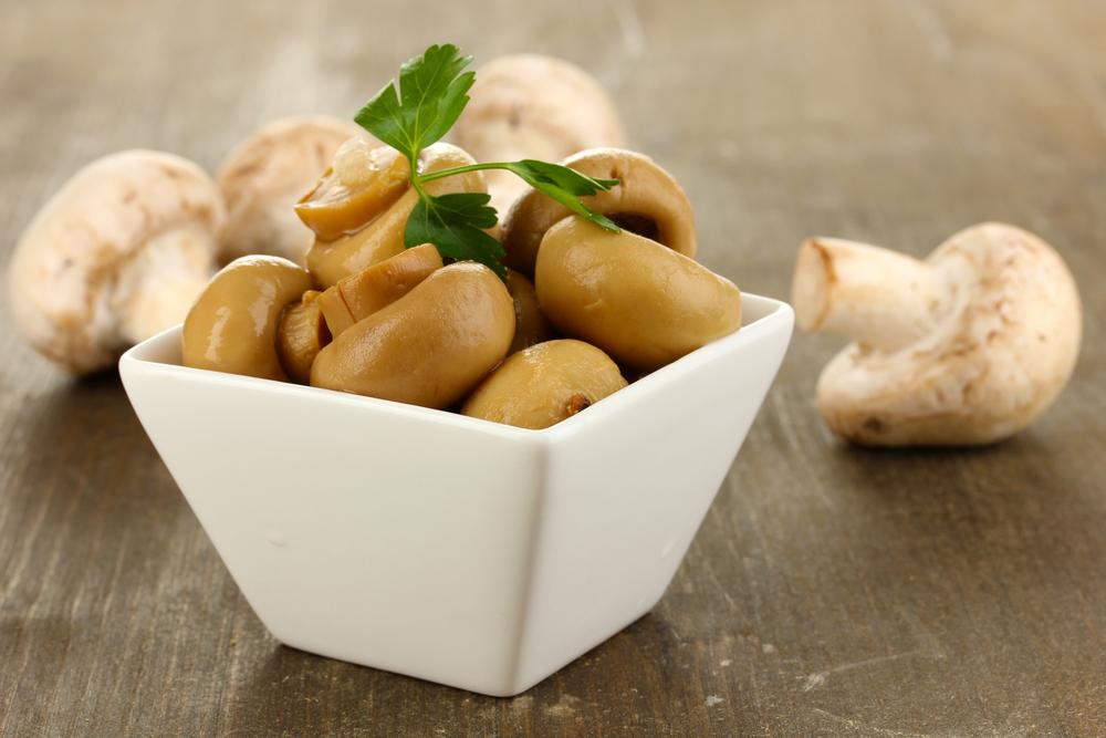 рецепт салата грибная поляна со свежими шампиньонами