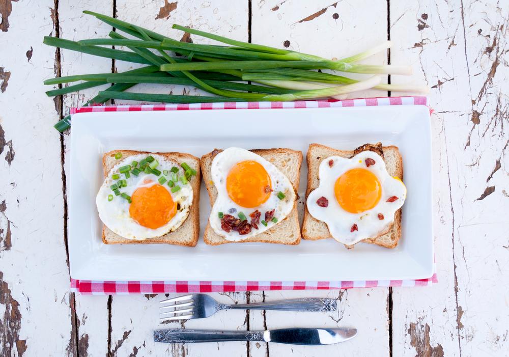 Оригинальные рецепты яичницы