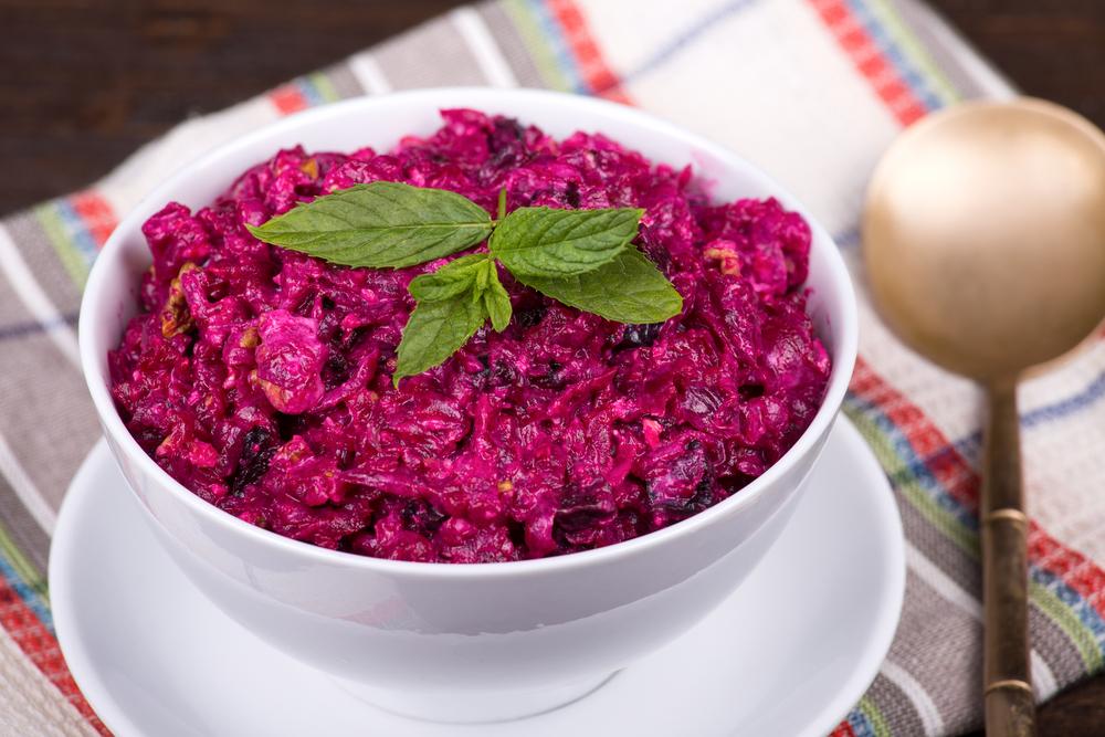блюдо из свеклы рецепты салатов
