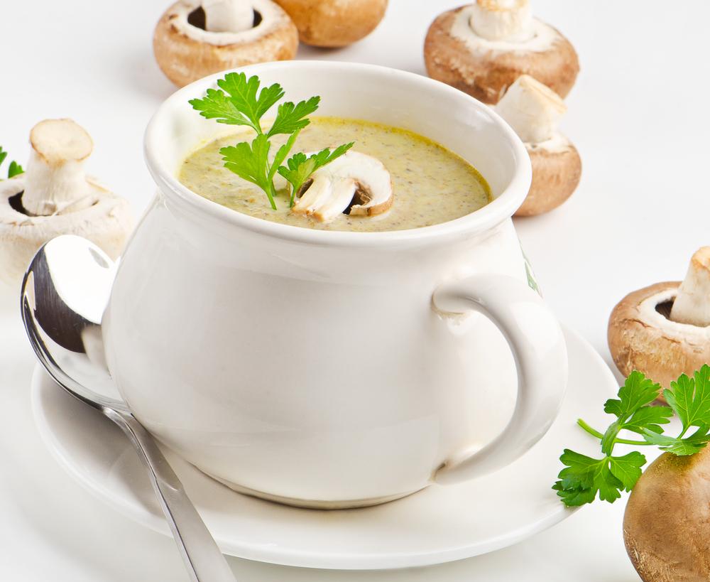 суп грибной из шампиньонов рецепт с фото крем