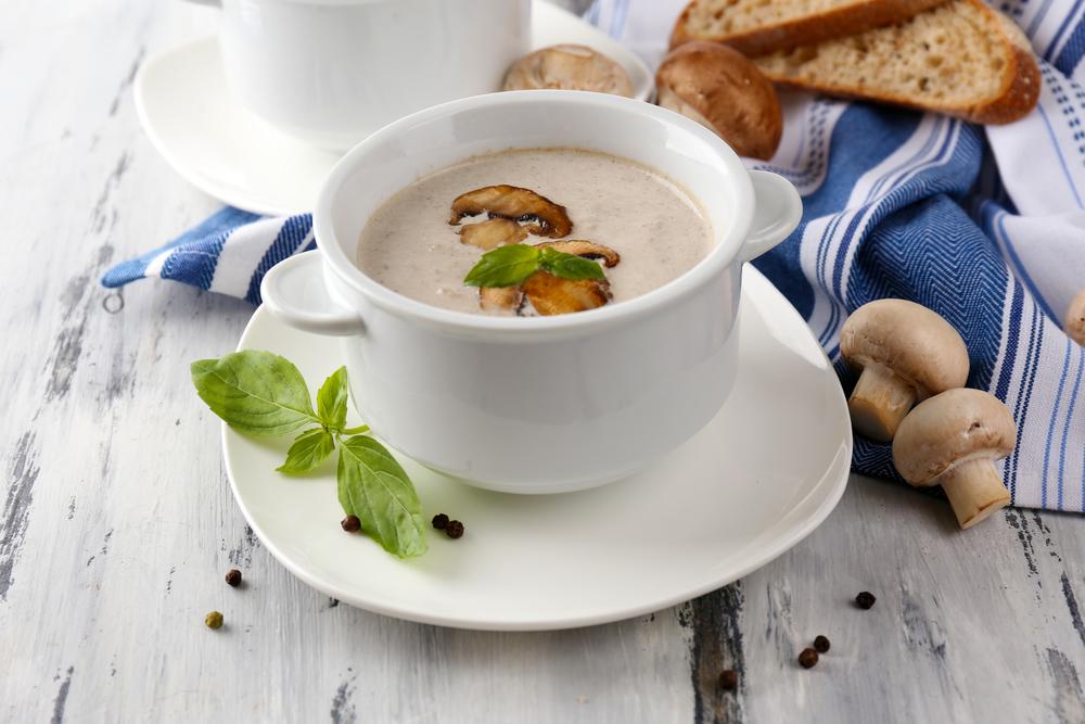 ингридиенты и рецепт приготовления грибного крем супа