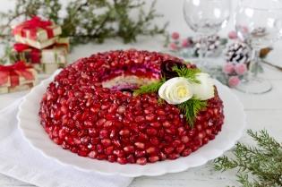 Салат гранатовый браслет рецепт с с грецким со свеклой