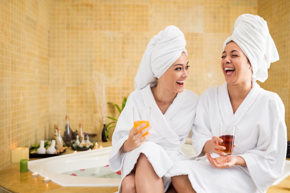В бане с подругой рассказ