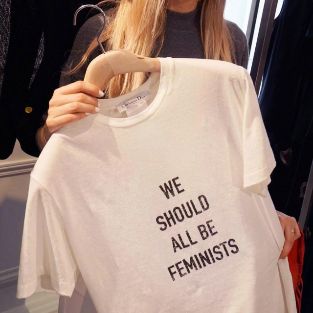 Dior We All Should Be Feminists T-short
