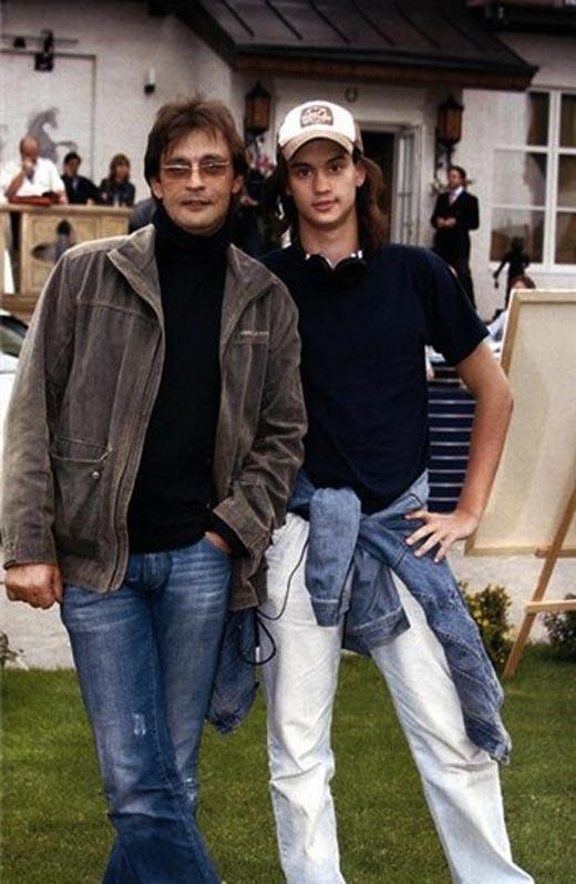 Домогаров с сыном Александром