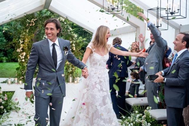Гвинет Пэлтроу свадебное платье