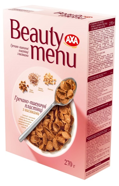 AXA Beauty menu