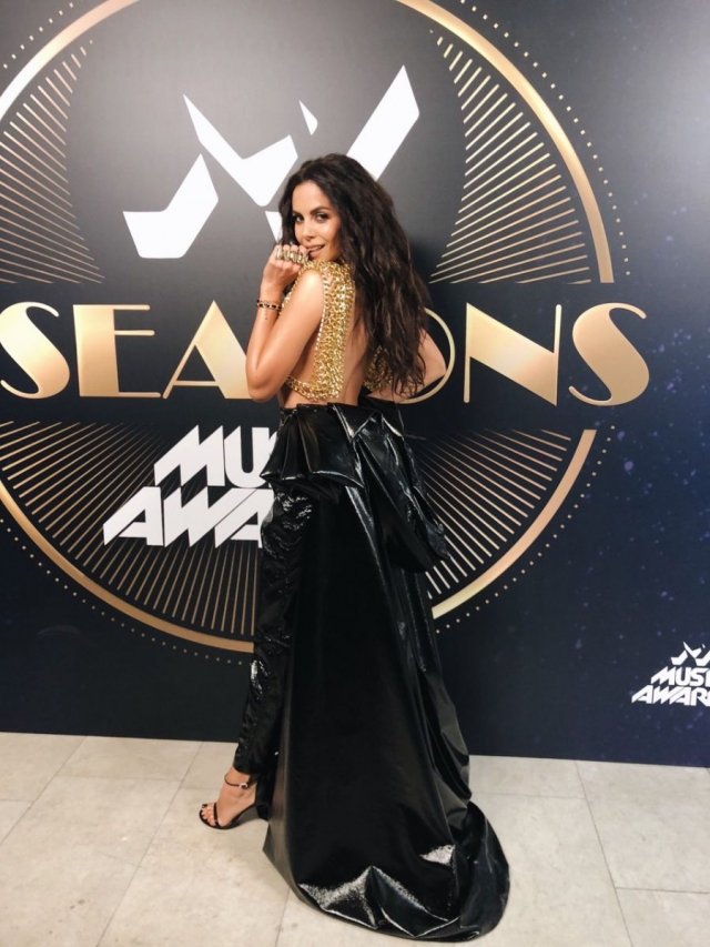Настя Каменских на M1 Music Awards