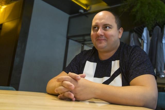 """Эксклюзивное интервью с Юрием Ткачем: """"Я юморю даже с собакой!"""" - фото №5"""