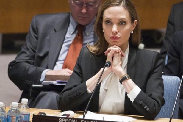 Анджелина Джоли в ООН