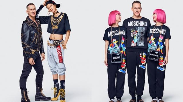 Коллаборация H&M Moschino