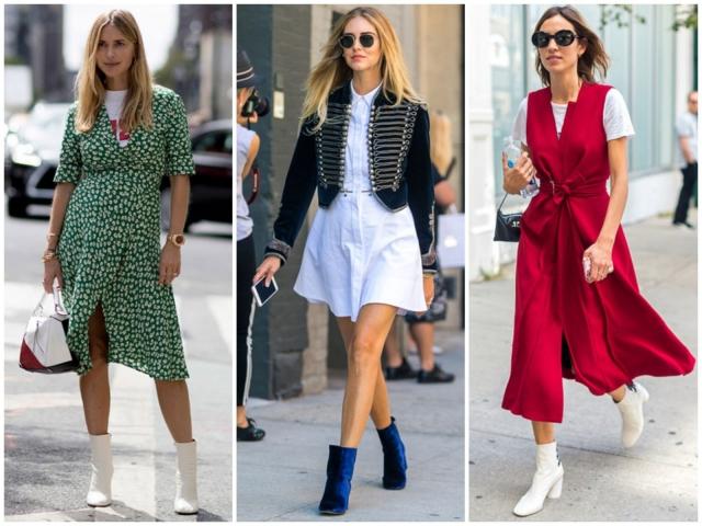 летняя уличная мода Нью-Йорка