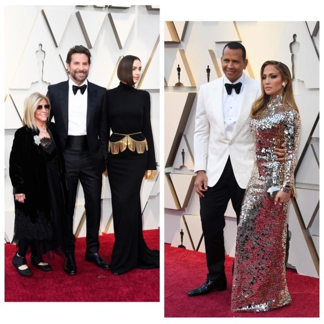 Ло, Родригес, Шейк и Купер красная дорожка Оскар 2019