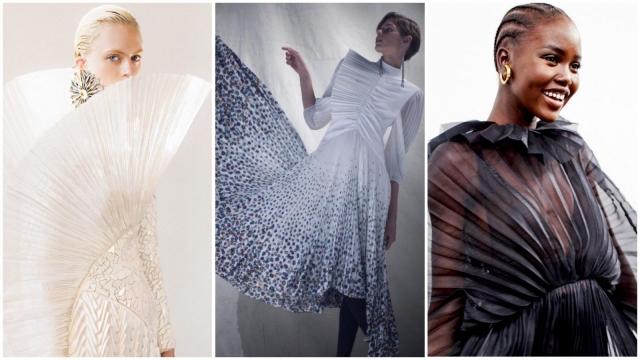 Balmain, Givenchy, Valentino