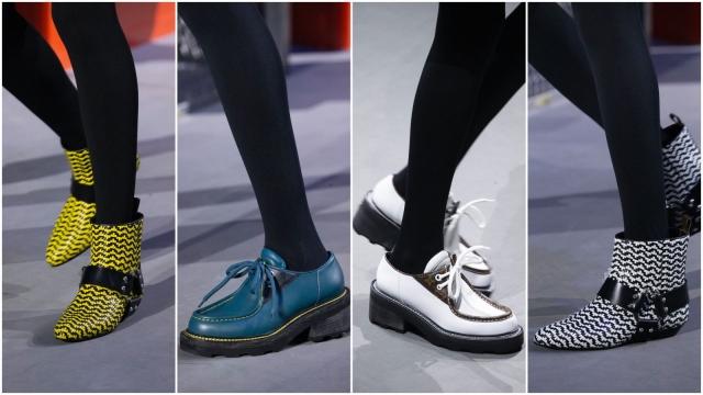Обувь тренды осень