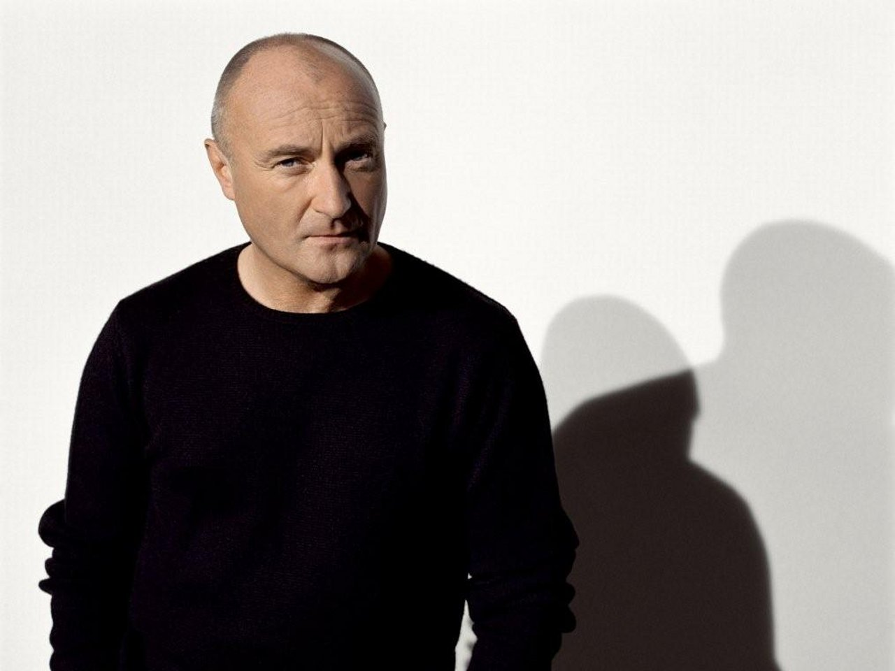 phil collins in the air