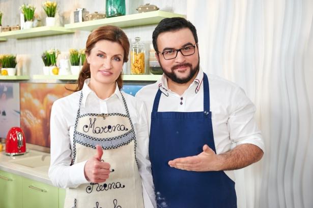 Марина Порошенко и Сенечкин
