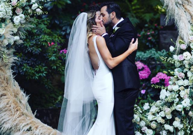 свадебное платье Эшли Грин