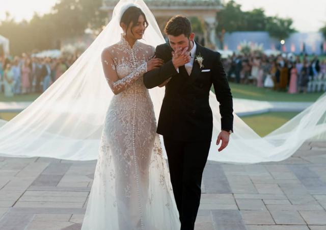 свадебное платье Приняка Чопра