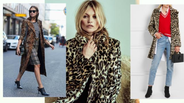 как носить леопардовый принт 2016 фото