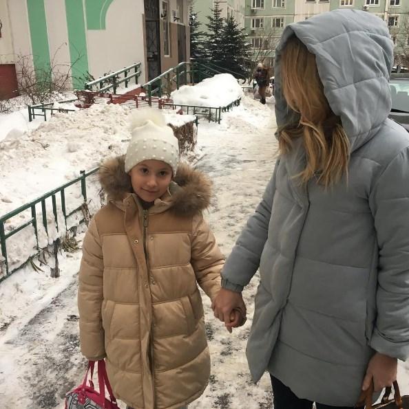 Дана Борисова отдала дочь бывшему мужу