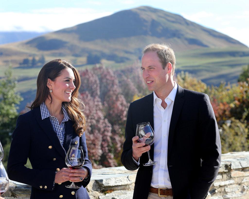 Кейт и Уильям 2016