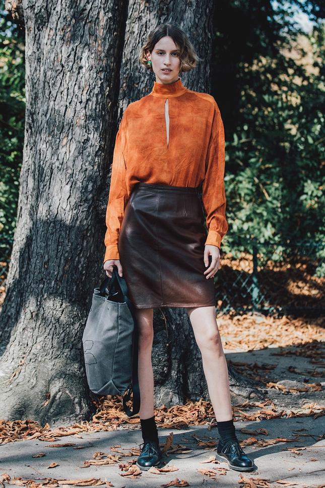 Street style на неделе моды в Париже