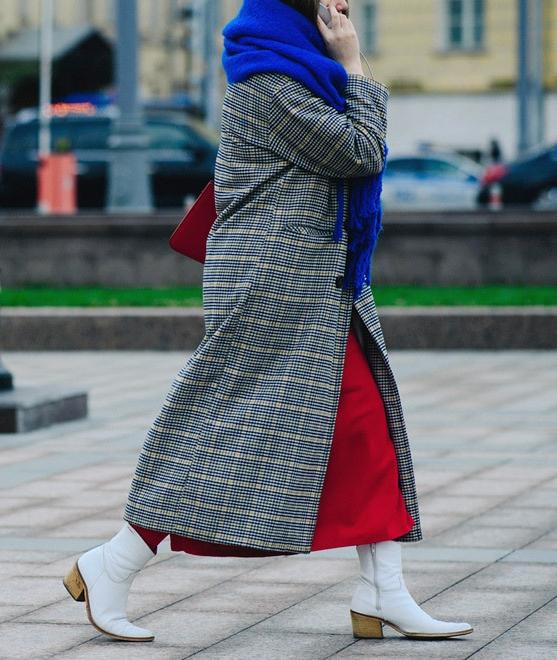 Streetstyle на Неделе моды в Москве