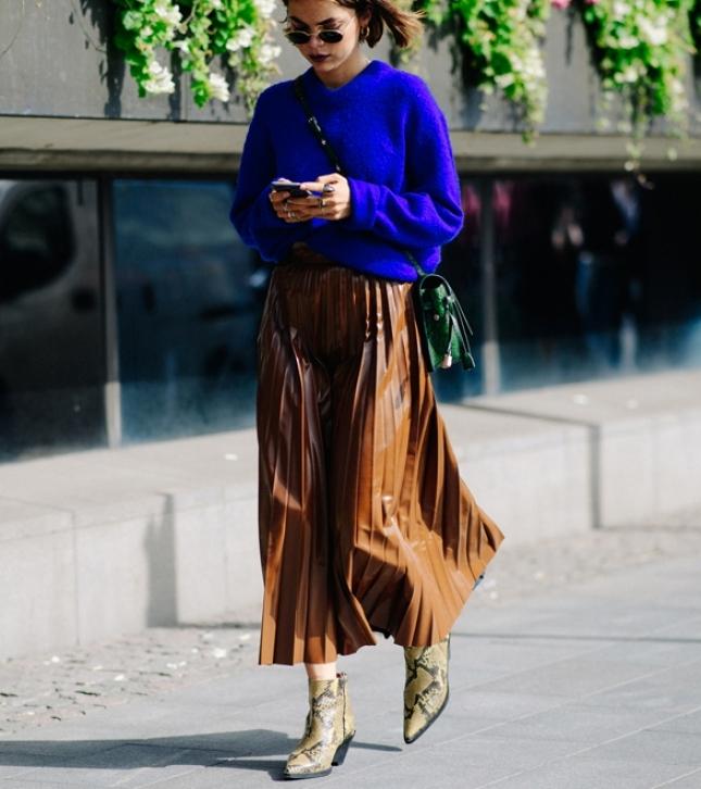 Streetstyle на Неделе моды в Стокгольме