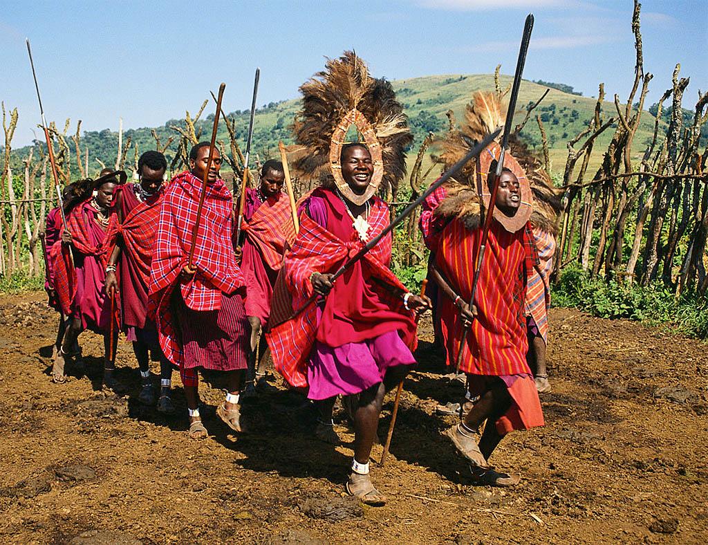 Племена Танзании