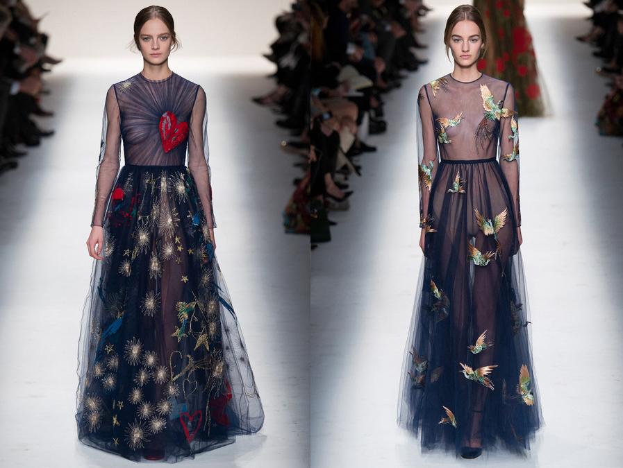 Платье от валентино с бабочками